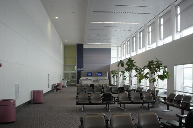 Waiting Area in Terminal a