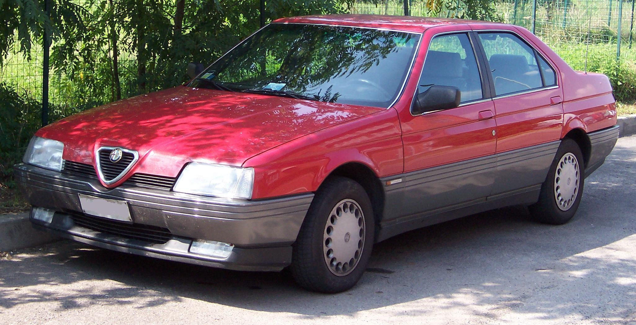 Alfa Romeo 164 >> File Alfaromeo 164 Front Jpg Wikimedia Commons
