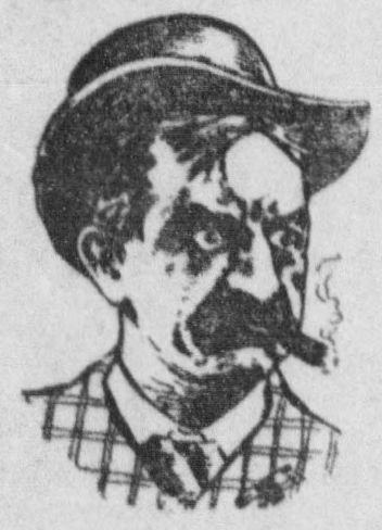 Angry man in 1904