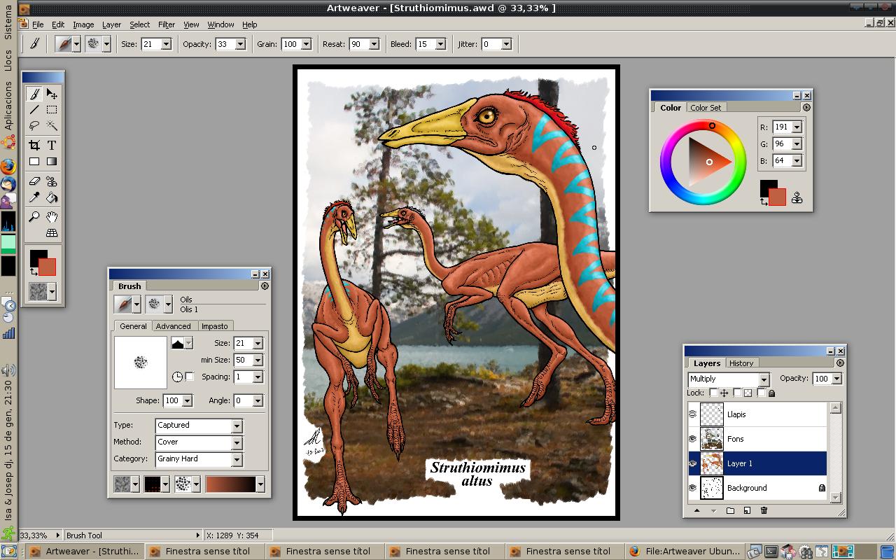 делать, в какой программе рисуют фотохудожники цвет