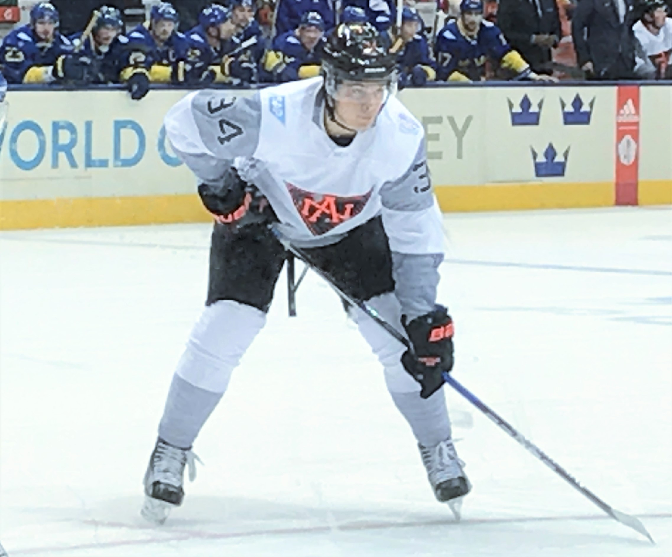 Matthews with Team North America during the 2016 World Cup of Hockey 541286ce89c