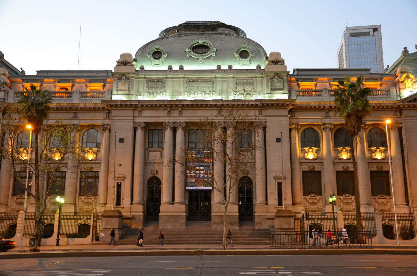 Biblioteca Nacional do Chile – Wikipédia, a enciclopédia livre