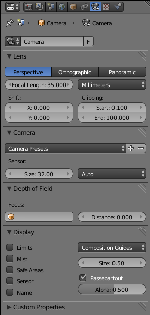 Blender 3D: Noob to Pro/Understanding the Camera - Wikibooks