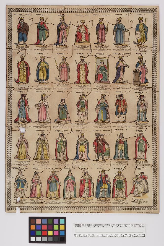 Bodleian Libraries, Whole length portraits of the Kings and Queens ...