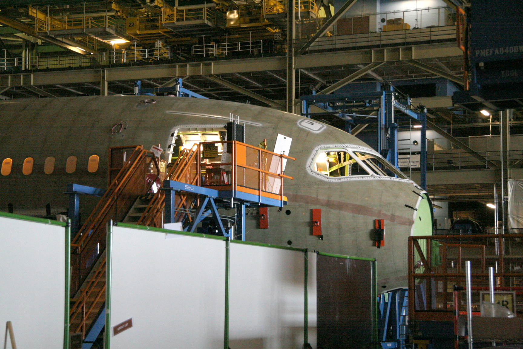Assembly of Section 41 of a Boeing 787 Dreamliner