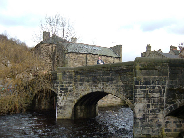 Bridge over Hebden Water, Hebden Bridge - geograph.org.uk - 145035