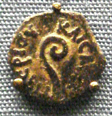 Archivo:Bronze coin of Pontius Pilate Jerusalem mint 26 36 AD.jpg