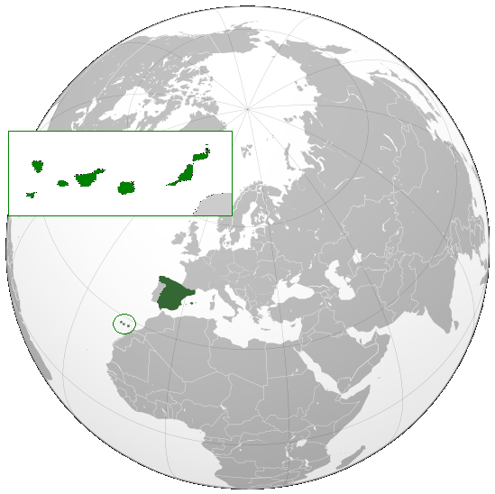 File:Canary Islands, Spain (orthographic projection).png