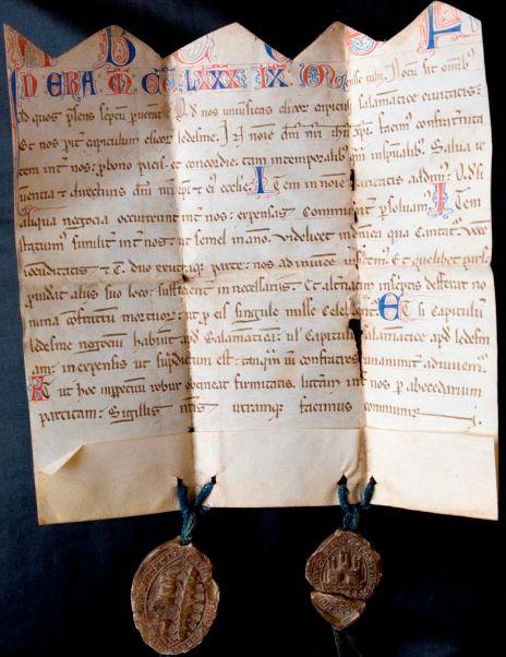 Carta De La Clerec C Ada De Ledesma