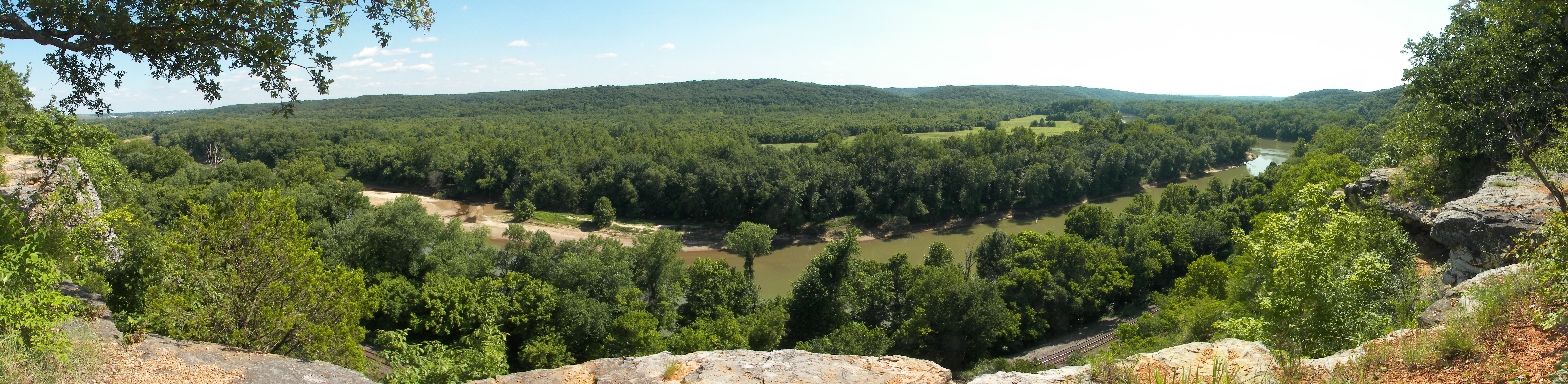 Castlewood State Park MO