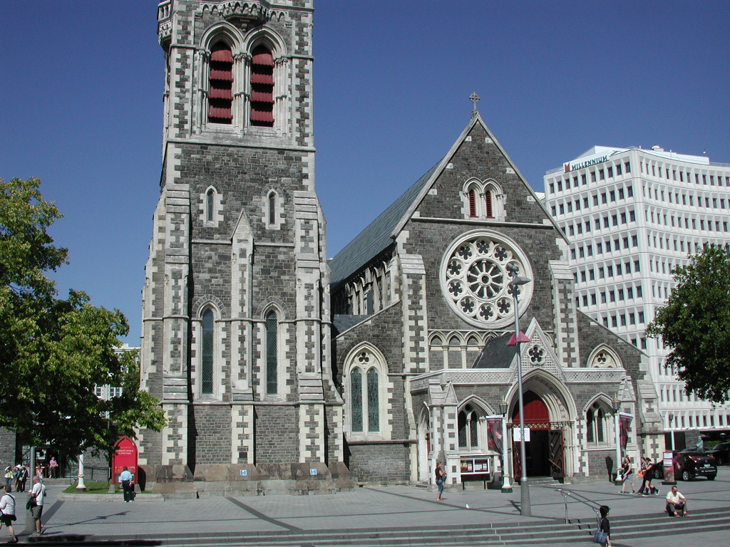 Christchurch Wikipedia: File:Christchurch Cathedral Front.jpg