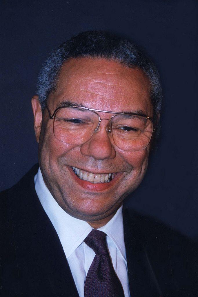 Poet Colin Powell