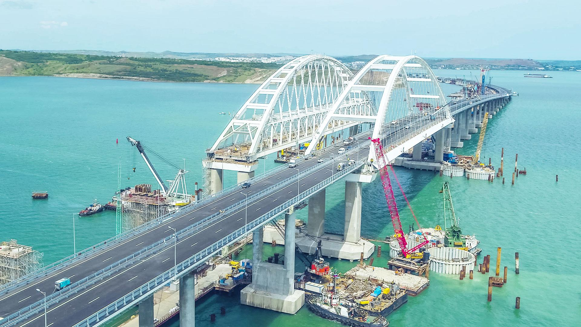 Crimean Bridge - Wikipedia