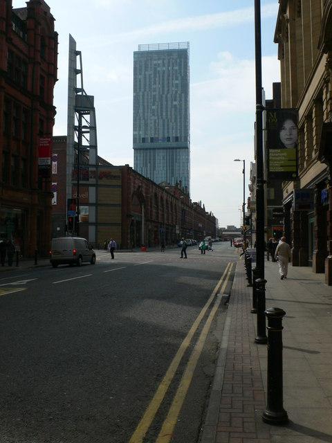 Deansgate Hotel Manchester Hilton