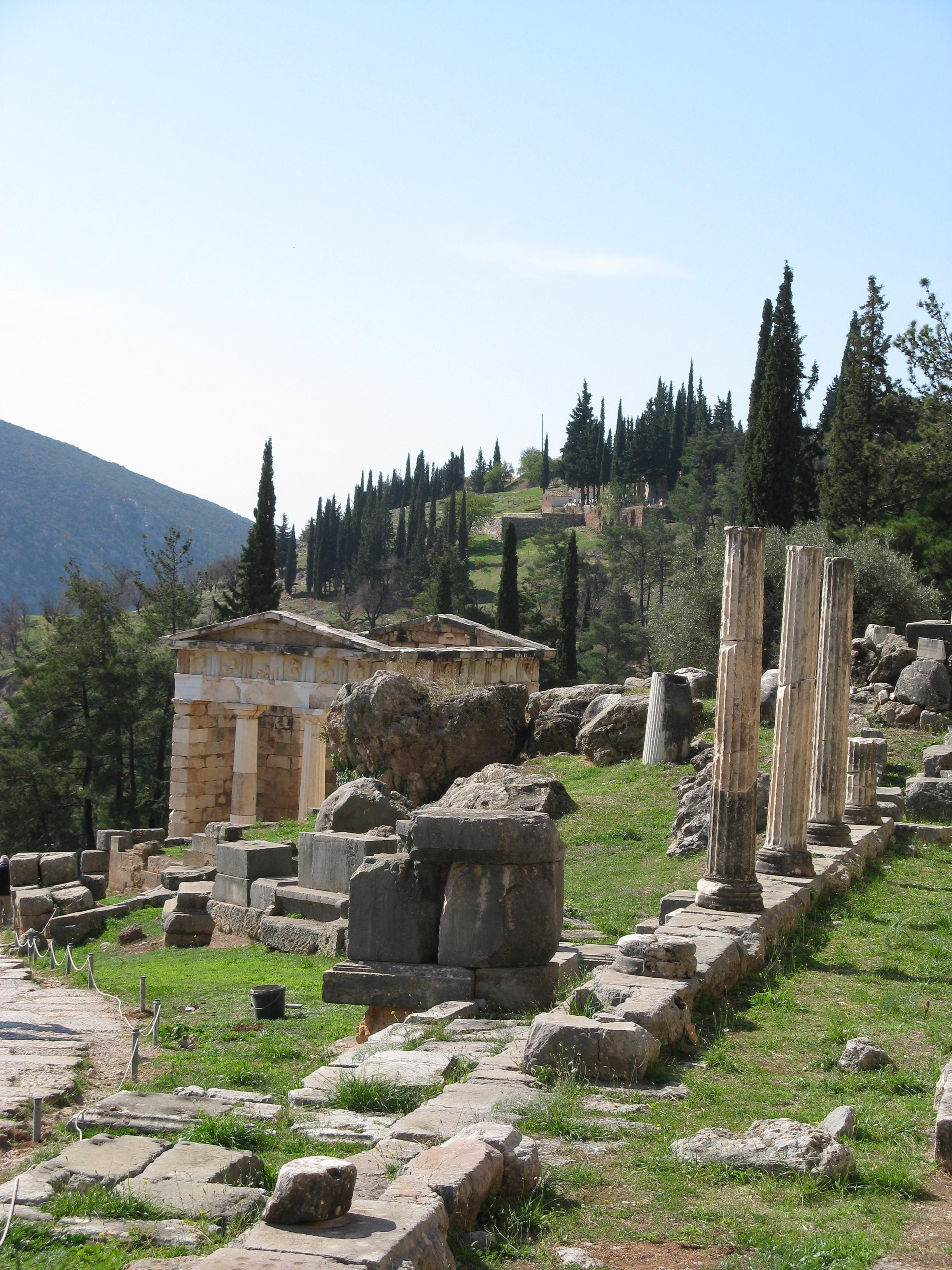 Resultado de imagen de Delphic sanctuary images
