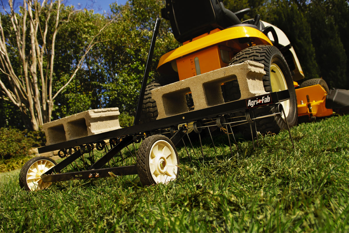 Lawn maintenance for a healthy lawn