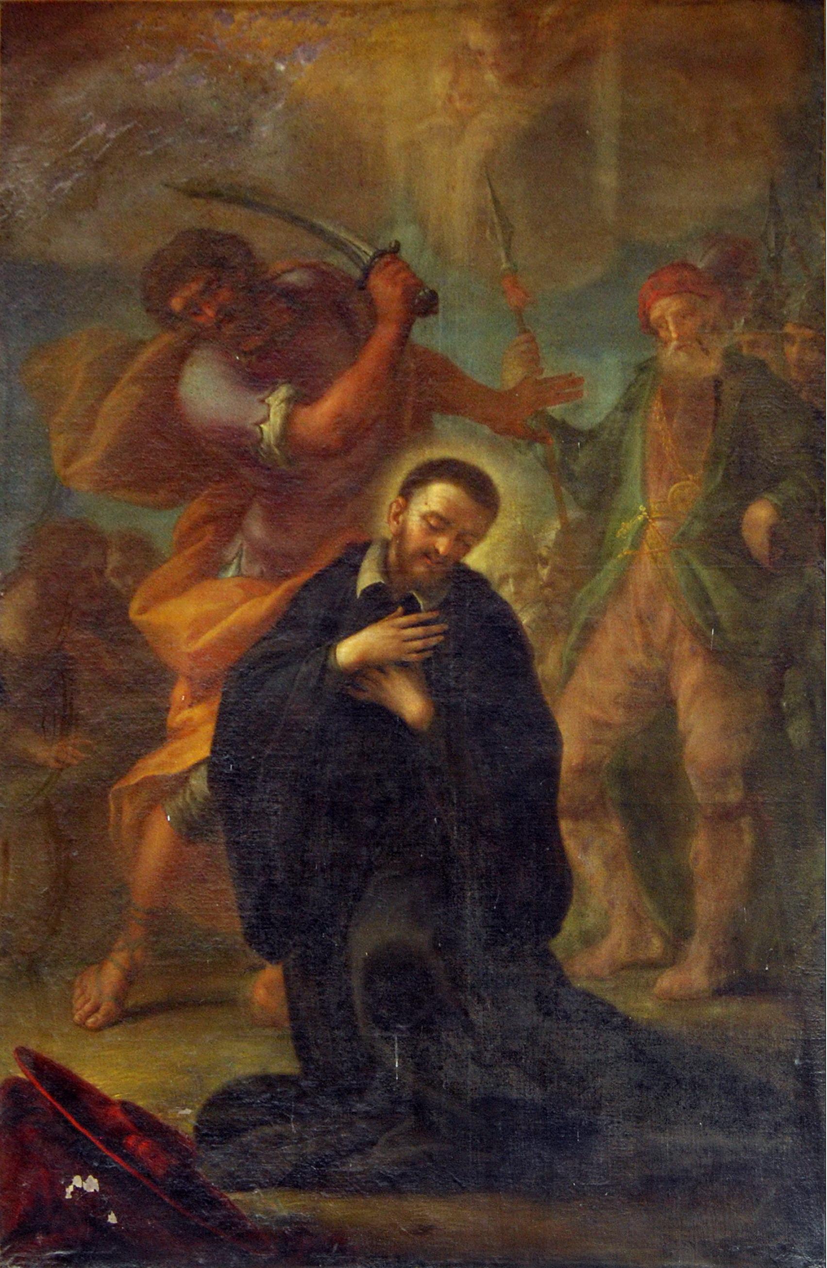 Domenico Pestrini: Den salige Tesaurus Beccheria, kapellet San Bernardo i basilikaen Santa Prassède i Roma
