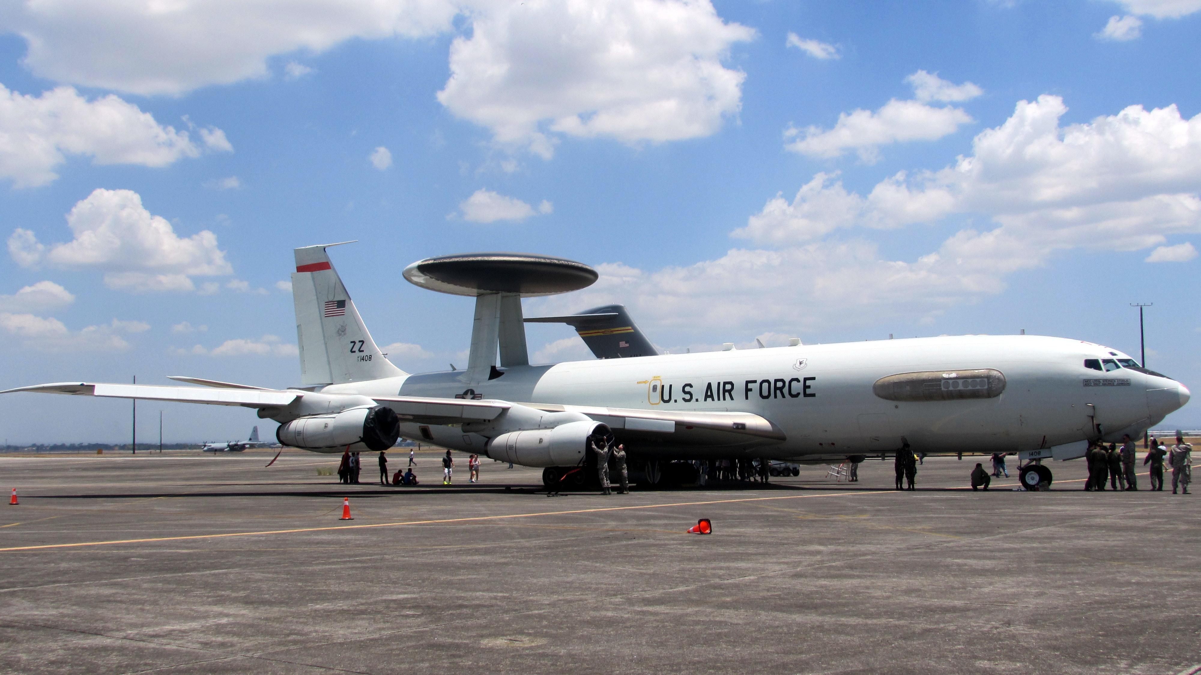 File:E-3 AWACS (Balikatan 2016).JPG - Wikimedia Commons