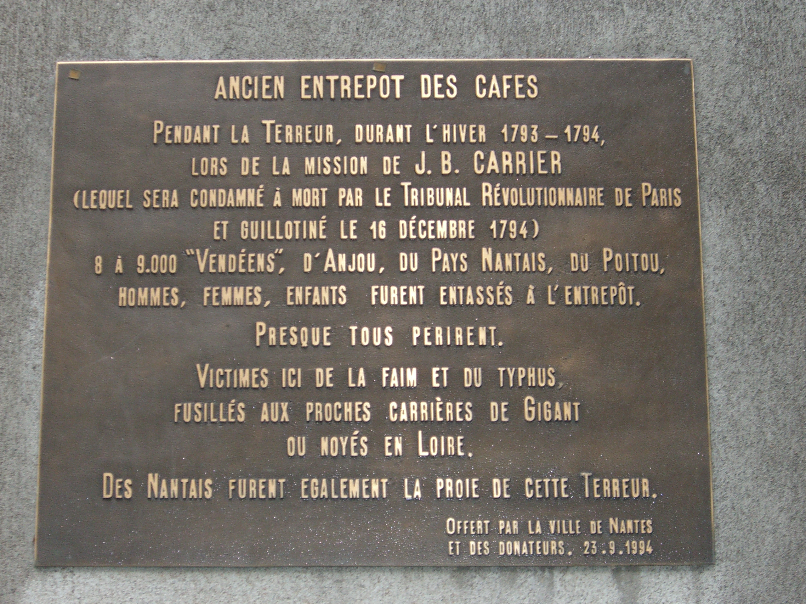 Drowning in Nantes: how one person organized the execution of more than 4,000 men, women and children
