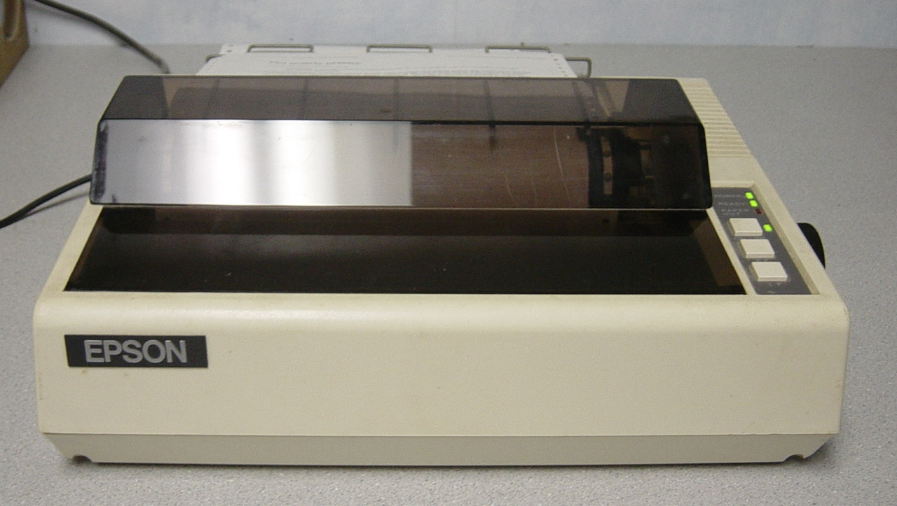 pson-80,apopularmodelofdot-matrixprinterinuseformanyyears