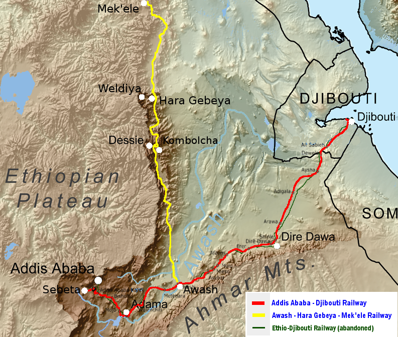 Awash–Weldiya Railway - Wikipedia