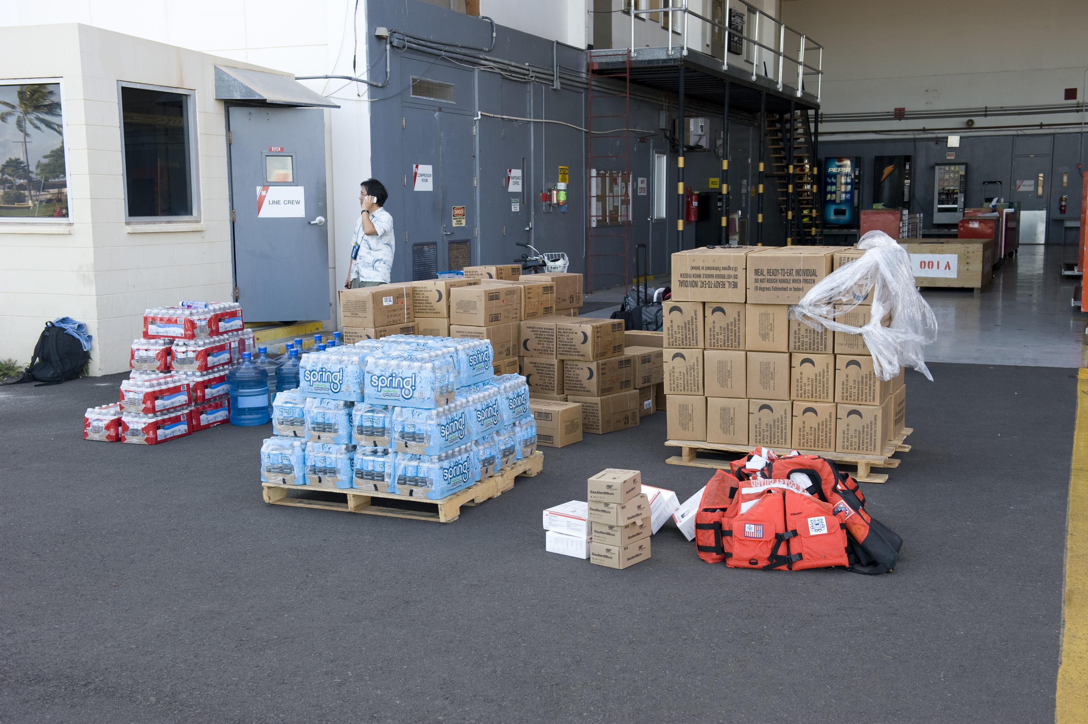 Fema supplies to region 3
