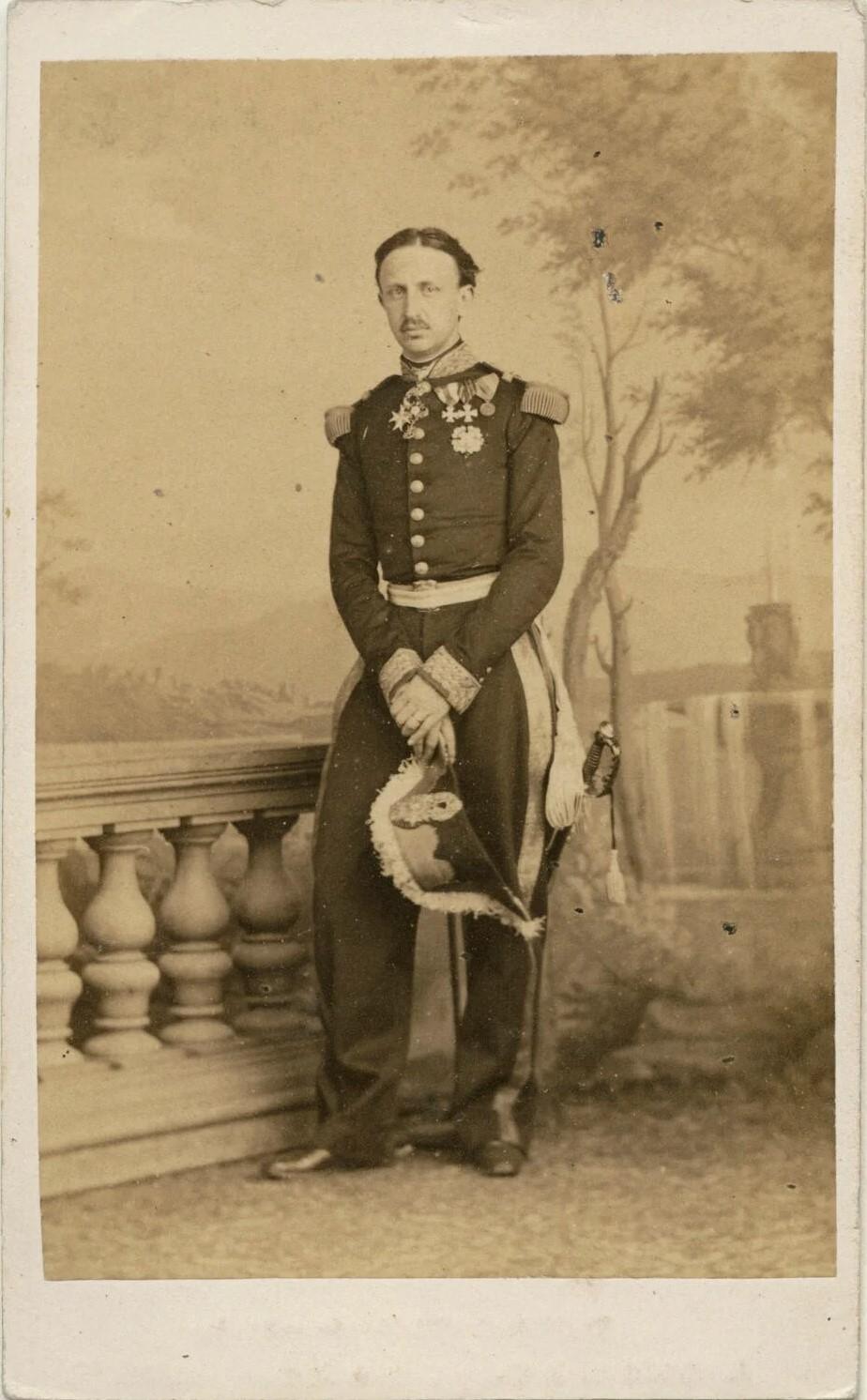 Francesco II delle Due Sicilie in una foto dei fratelli D'Alessandr