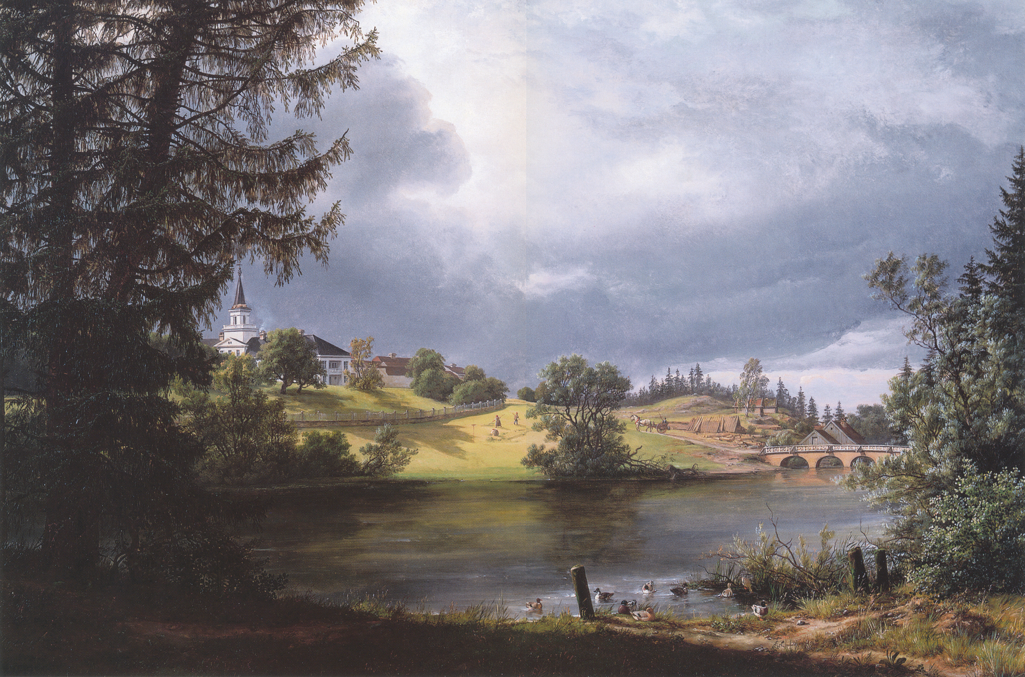 File:Frogner Manor by I. C. Dahl for Benjamin Wegner.jpg
