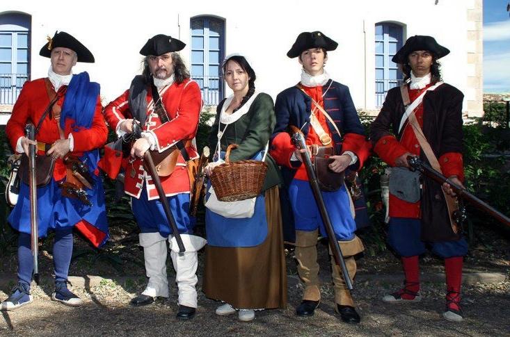 Ejército de Catalunya (1713-1714) Fusellers