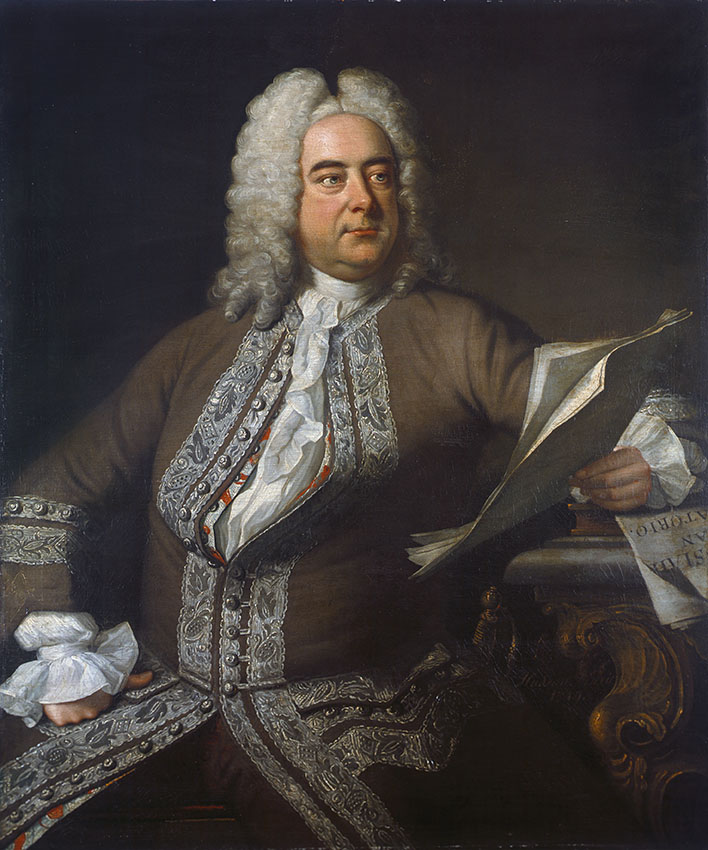 Image result for Georg Friedrich Handel, painting