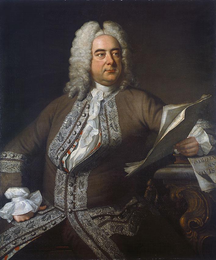 Georg Friedrich Händel en 1741.