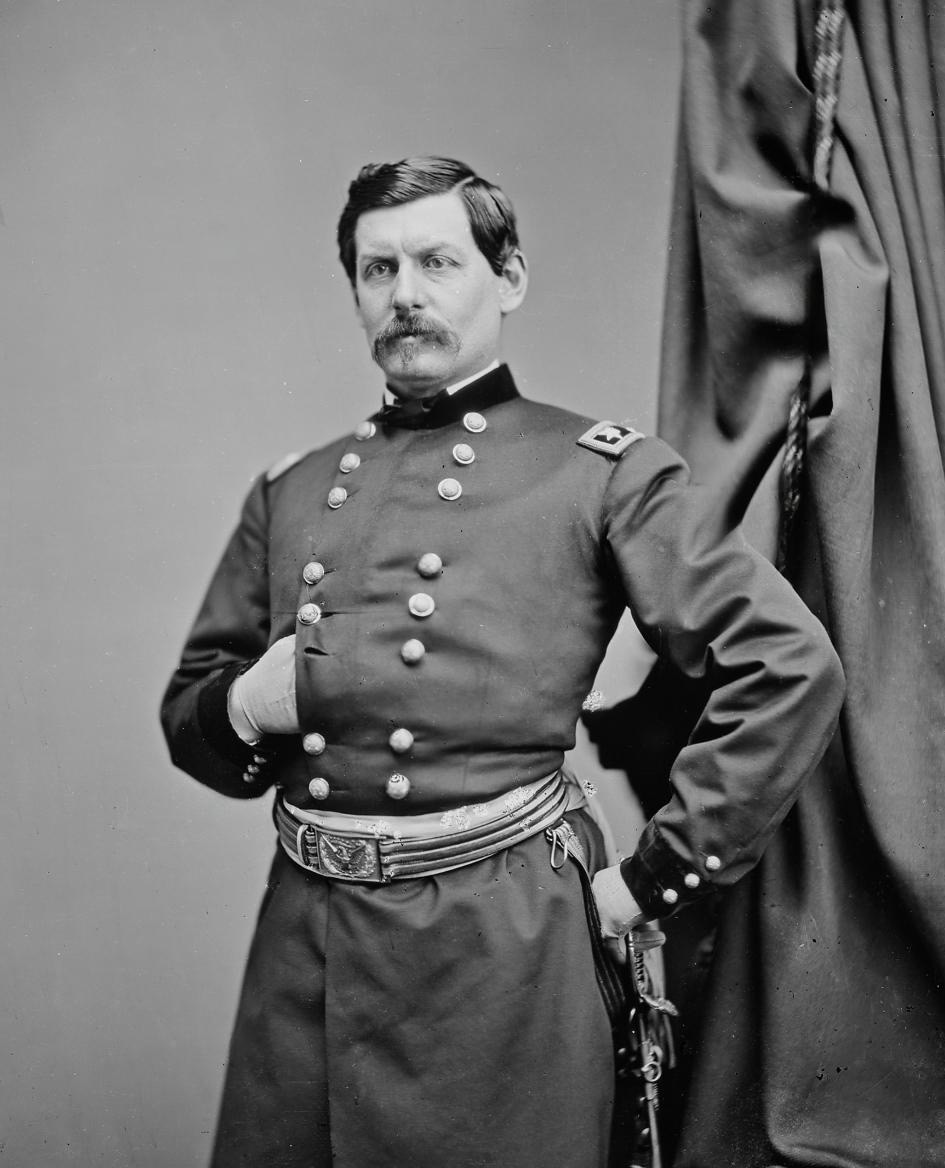 George McClellan, Commanding General of the Union Army (1861-62)