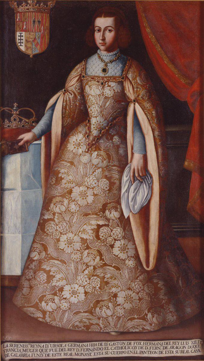 Depiction of Germana de Foix