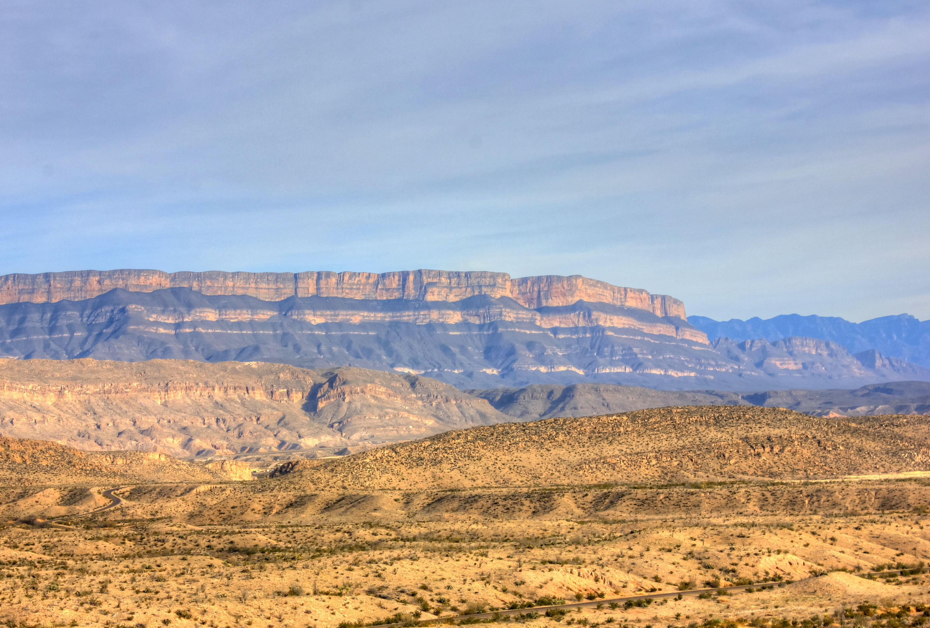 How far is Big Bend National Park from Fort Worth