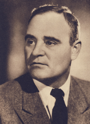 Depiction of Gheorghe Gheorghiu-Dej