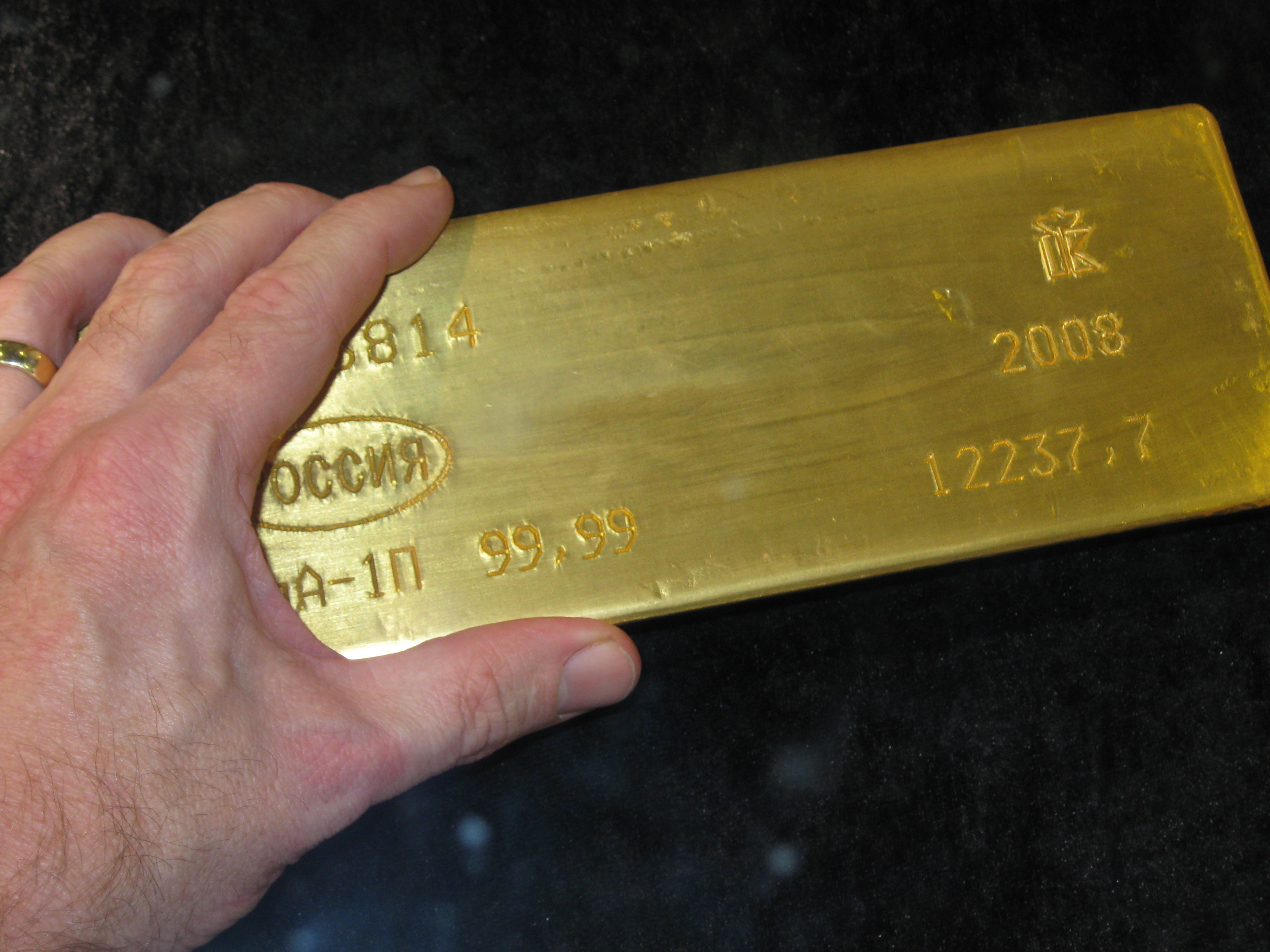 File Gold Bar 400 Oz Jpg Wikimedia Commons