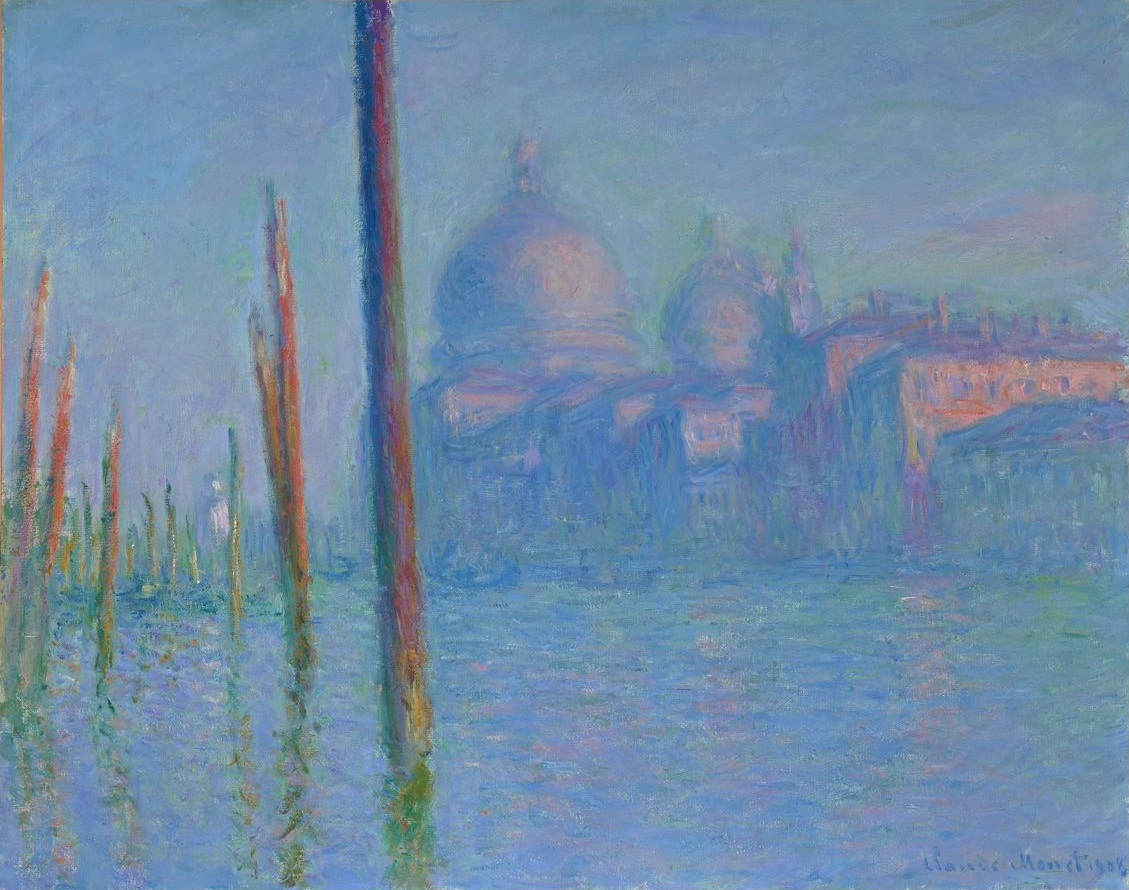 File:Grand Canal, Venice, 1908 by Claude Monet - California Palace ...