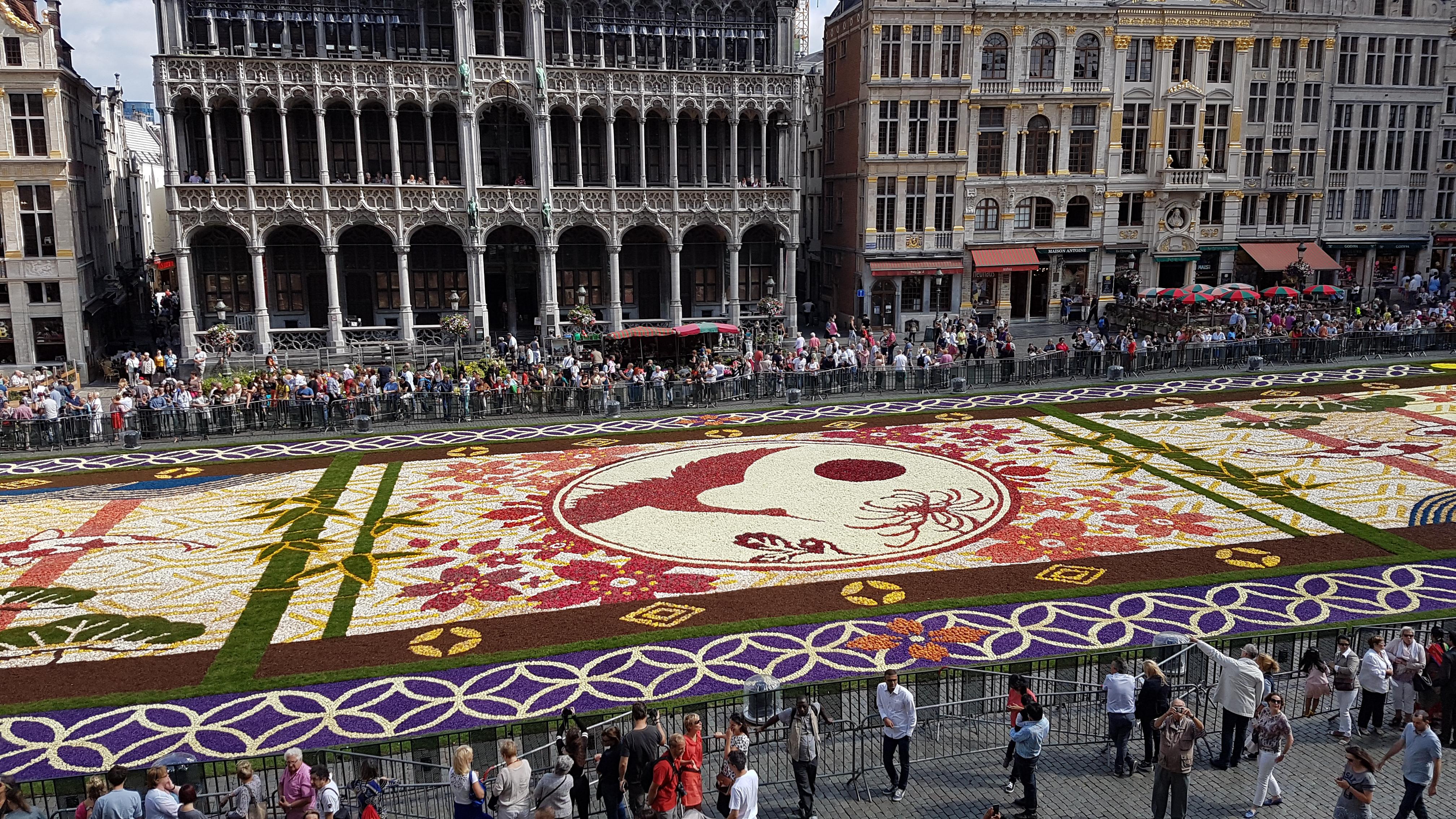File Grand Place De Bruxelles Tapis De Fleur 2 Jpg Wikimedia Commons