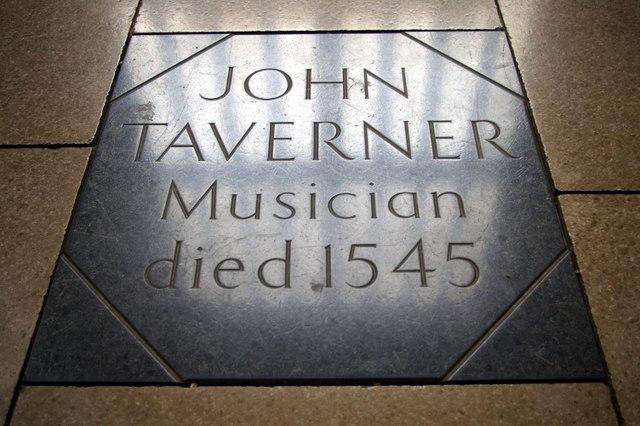 File:Grave of John Taverner - geograph.org.uk - 596642.jpg
