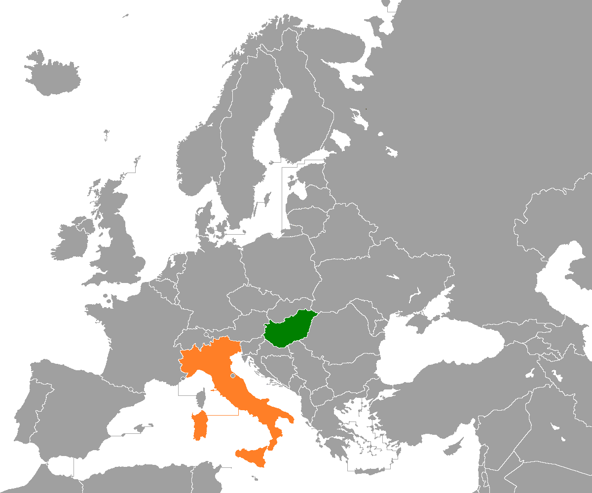 Hungary In World Map
