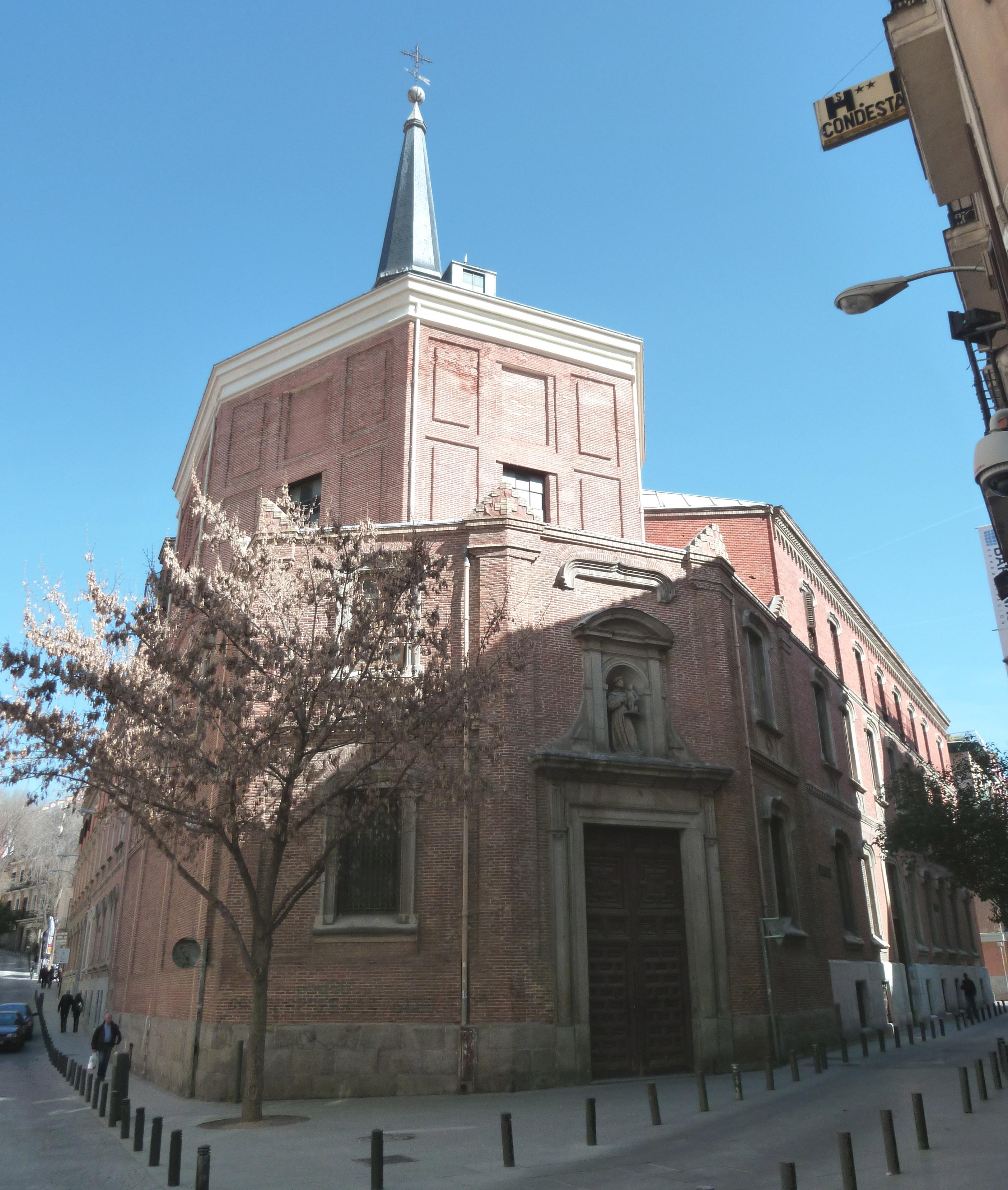 Iglesia De San Antonio De Los Alemanes Wikipedia La Enciclopedia