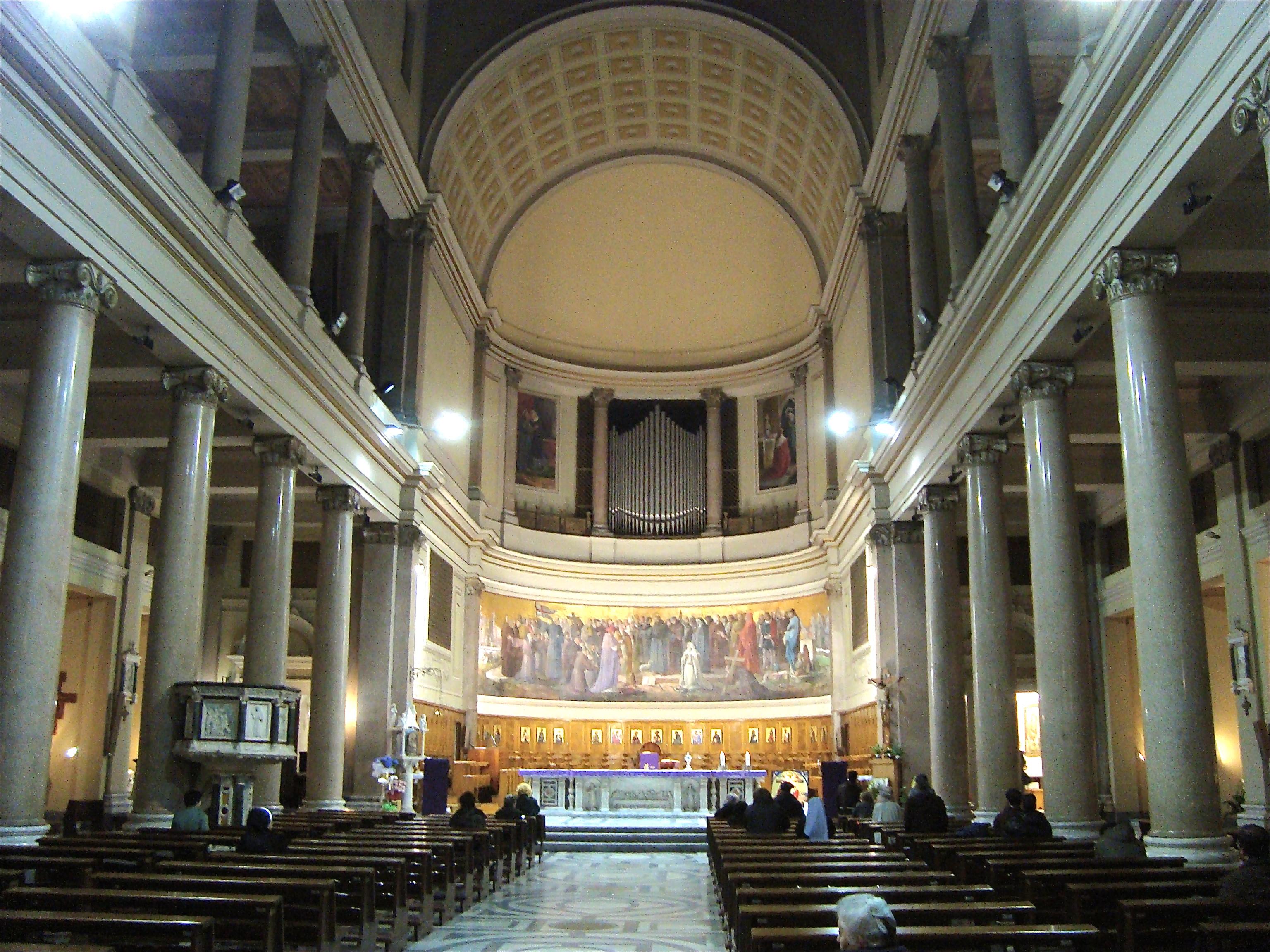 File:Intérieur Église Sant\'Antonio da Padova all\'Esquilino.JPG ...