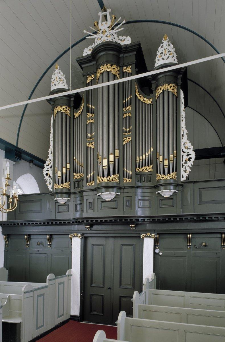 file interieur aanzicht orgel orgelnummer 522 goutum