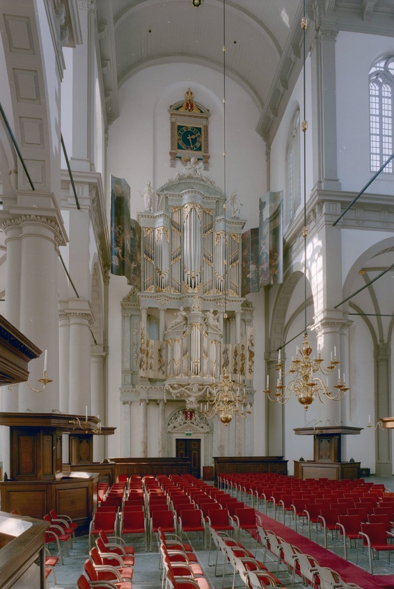 File interieur aanzicht orgel met geopende luiken for Interieur 65