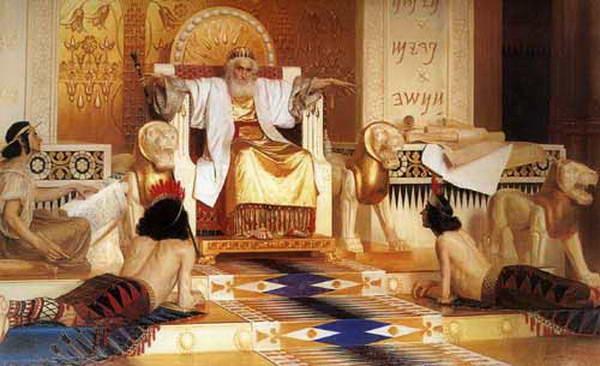 Vanity of vanities; all is vanity illustrates an old and meditative King Solomon by Isaak Asknaziy.