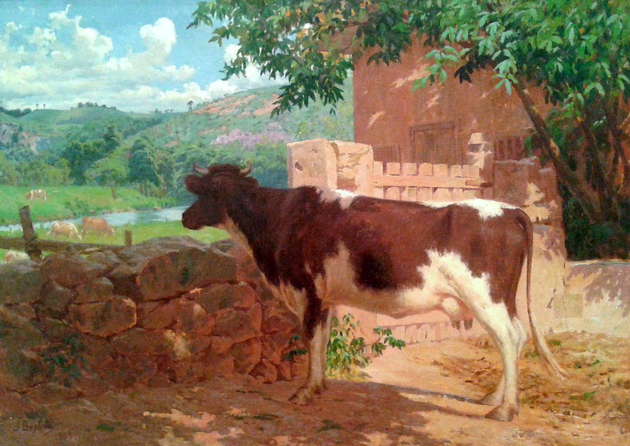 João Batista da Costa, The Prisoner (Fenced Cow)