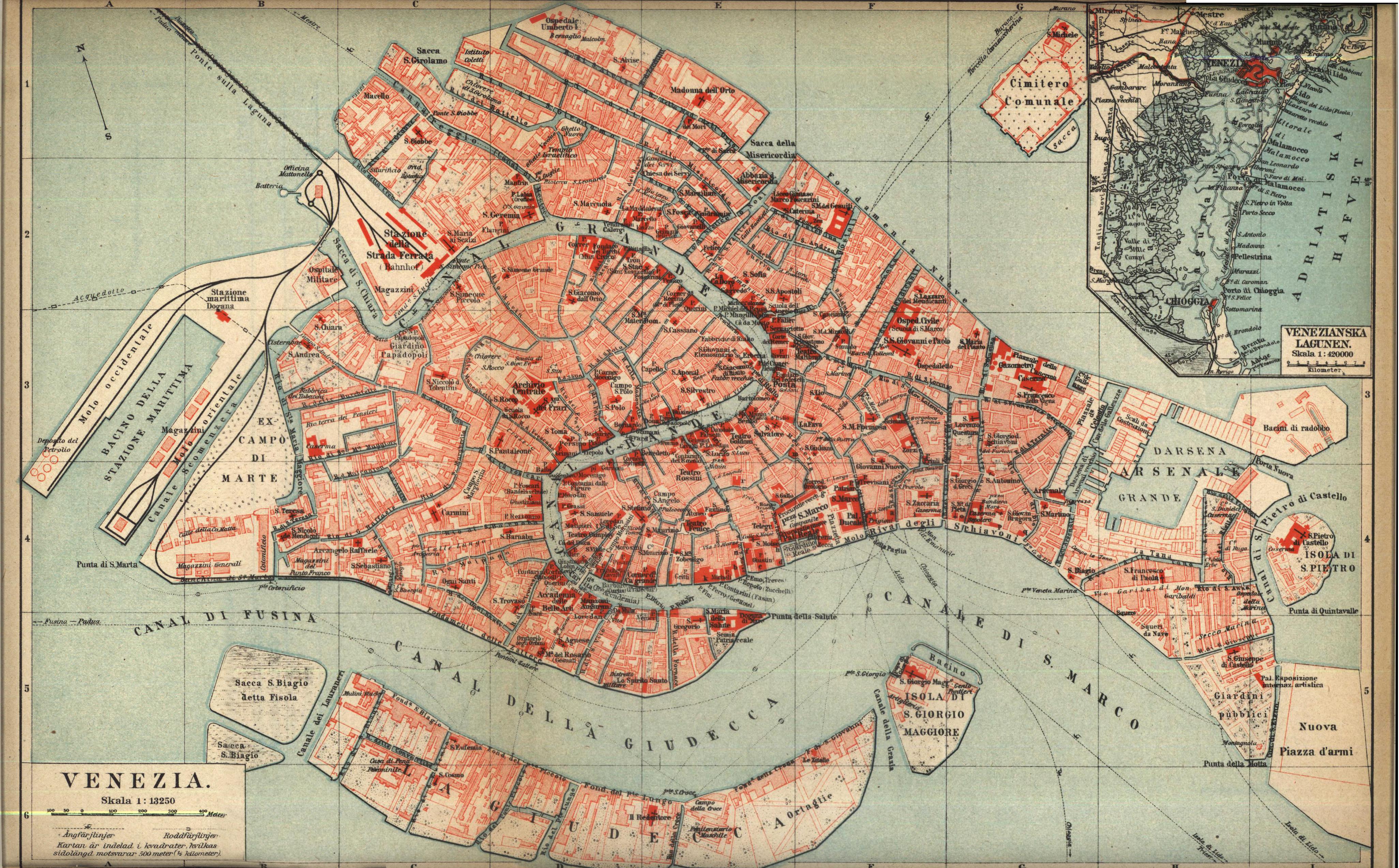 karta över venedig italien Venedig   Wikiwand karta över venedig italien