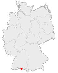 Karte Konstanz in Deutschland