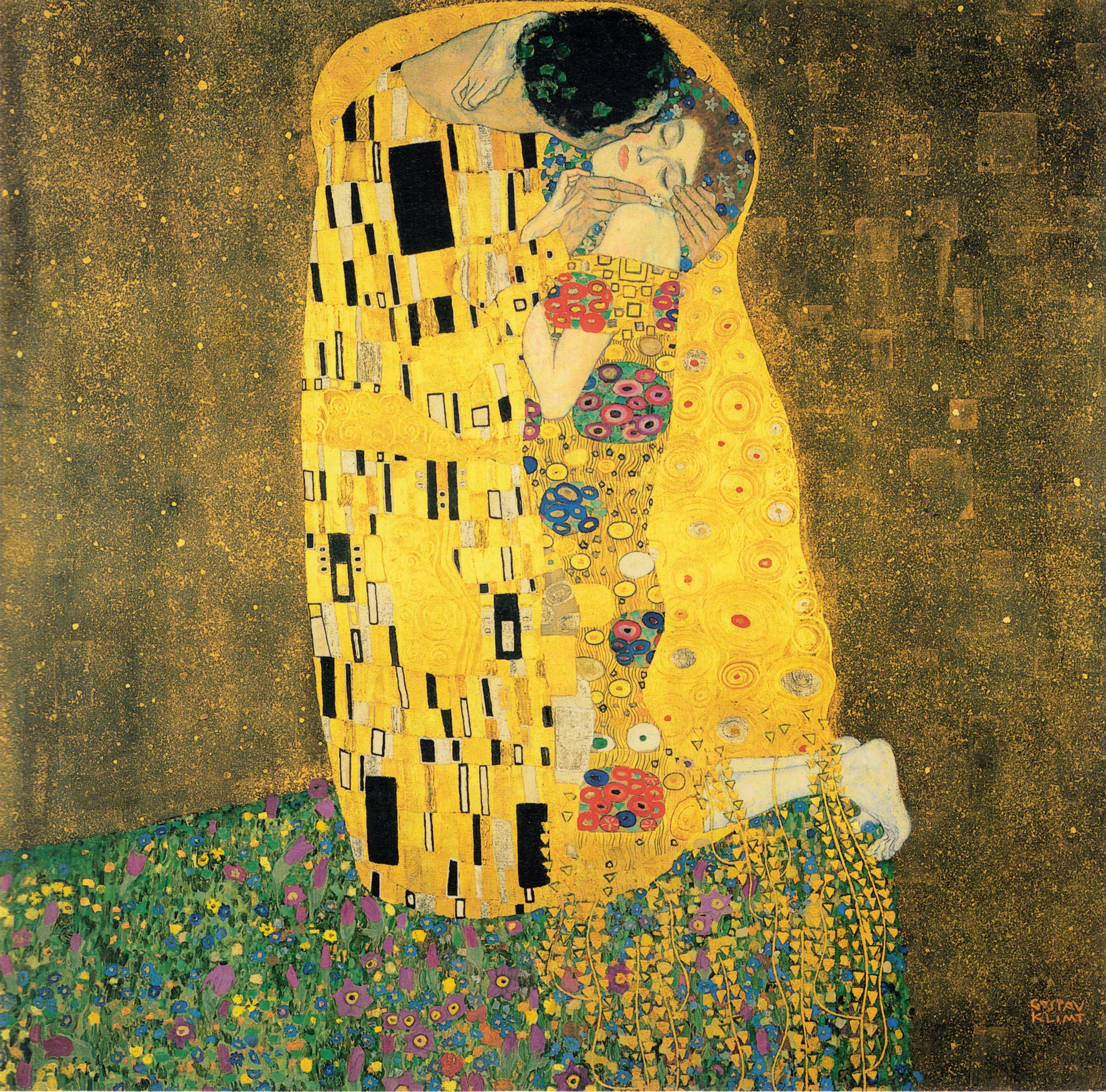 Gustav Klimt The Kiss
