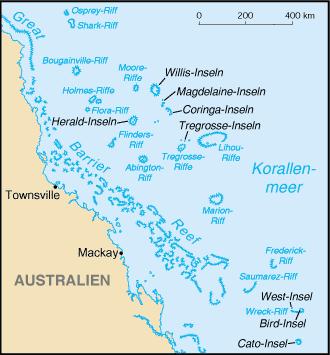 Korallenmeerinseln